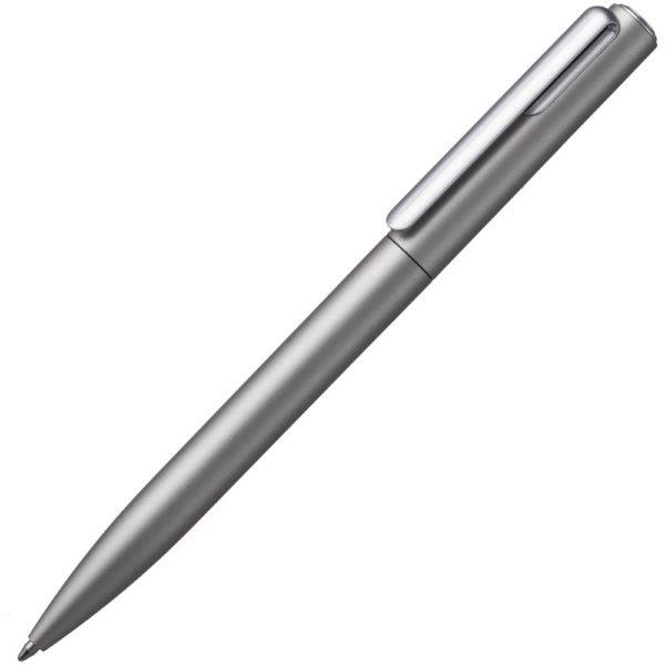 Ручка шариковая Drift Silver, темно-серебристая
