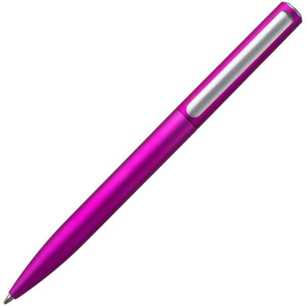 Ручка шариковая Drift Silver, ярко-розовая (фуксия)
