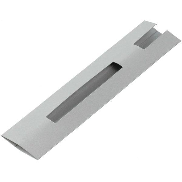 Чехол для ручки Hood Color, серебристый