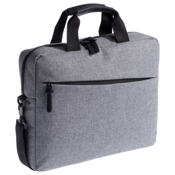 Конференц-сумка The First, серая
