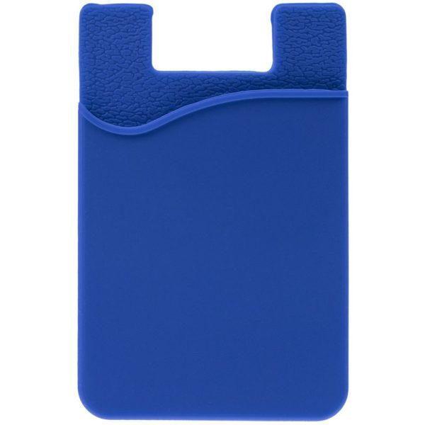 Чехол для карты на телефон Shelley, синий