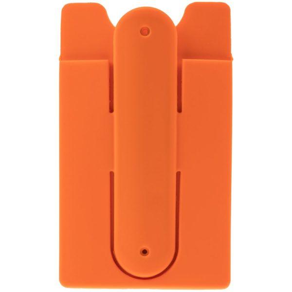 Чехол для карты на телефон Carver, оранжевый