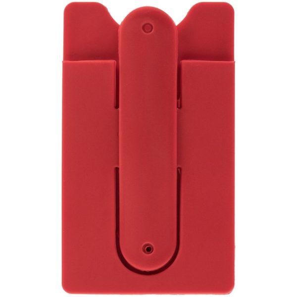 Чехол для карты на телефон Carver, красный